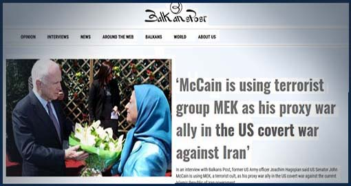 MEK, the US's proxy war ally!