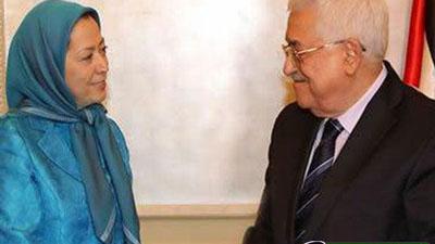 محمود عباس چه مشکلی از فرقه رجوی حل میکند؟