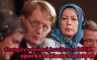 Congressional invite to MEK sparks furious backlash