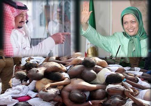 منافقین از جنایت آل سعود حمایت کردند