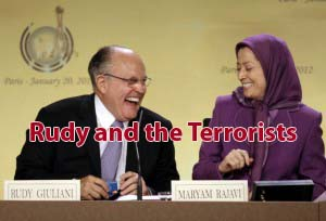 Giuliani claims 'terrorist' MEK only chance to stop Iran