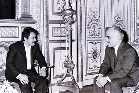 Bildergebnis für ملک حسین مسعود رجوی