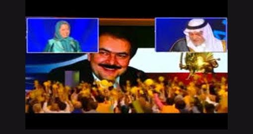 Desperate widow of Massoud Rajavi