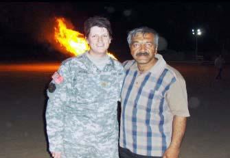 عکسهای آقای محمد رزاقی در کمپ آمریکایی ها در نزدیکی اشرف در عراق