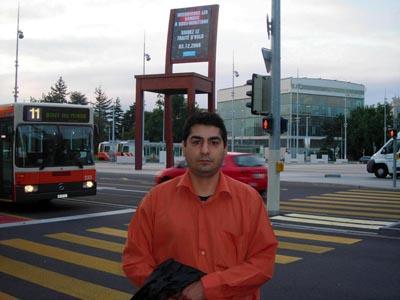 آرش صامتی پور در ژنو