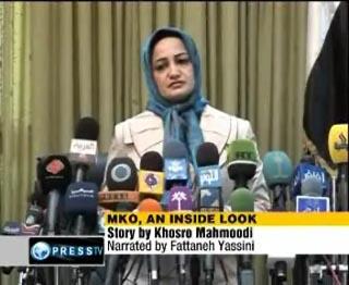 Maryam Sanjabi, a former ringleader of the MKO