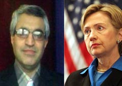 Mr. Sarrafpour Letter to the US Secretary of States concerning MKO