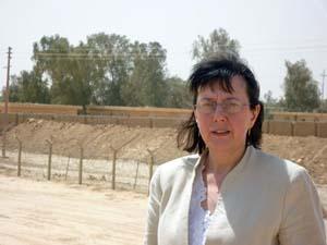 دیدار خانم سینگلتون، از کمپ عراق جدید (اشرف)