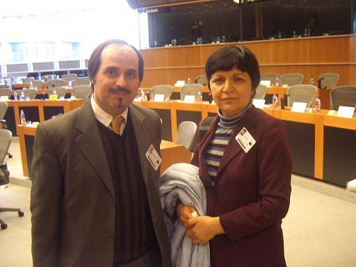 آقای سبحانی در پارلمان اروپا