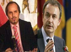 Open letter of Mr. Sobhani to Prime Minister of Spain Mr. Jose Luis Rodrigers Zapatero