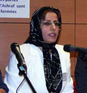 Ms. Batoul Soltani, the former member of PMOI's Leadership Council