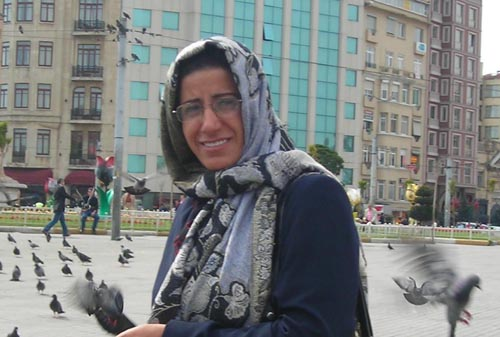 Ms. Batoul Soltani former member of the leadership Council of People's Mujahedin of Iran was released after two decades of being captive in the cult of Rajavi