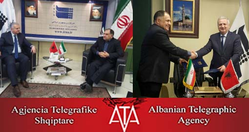 Iranian and Albanian News agencies sign cooperation agreement