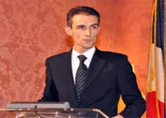 French Foreign Ministry Spokesman Philippe Lalliot