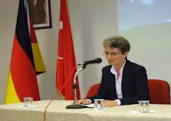 Germany's Ambassador to Iraq Britta Wagner