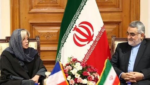 مسؤول برلماني ايراني يدعو فرنسا لحظر انشطة زمرة