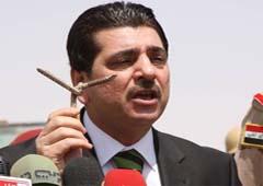الحکومه العراقیه تعتقد ان منظمه مجاهدی خلق استغلت أعمال الشغب لقتل أنصارها