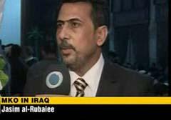 جاسم ربیعی تحلیلگر سیاسی عراقی اظهار داشت: اگرچه دولت آمریکا، سازمان تروریستی مجاهدین خلق را درلیست سیاه قرارداده است، اما مشاهده می کنیم که این کشور مانند یک حامی به این سازمان تروریستی کمک و از آن حمایت می کند و اردوگاه اشرف به طور ویژه تحت نظر امریکایی ها اداره می شود.