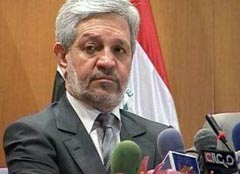 Iraq's Finance Minister Baqir al-Zubaidi