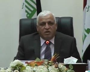فالح الفیاض مشاور امنیت ملی عراق