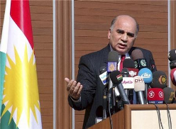 Fouad Hussein, head of the office of President Barazani's Government of the Kurdistan Region