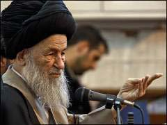 مكتب آية الله العلوي الكركاني يدعو للقضاء على زمرة المجاهدين