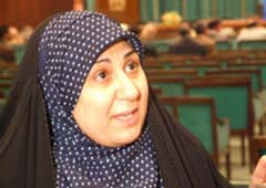 Iman al-Asadi, a member of the Shiite United Iraqi Alliance (UIA)