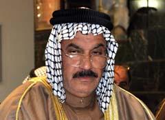 Sheikh Ibrahim Abdullah Al- jabouri, member of the council of Iraqi tribal leaders in Salaheddin