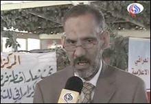 """""""منهل المرشدی """" عضو مرکز توسعه رسانه ای عراق نیز تاکید کرد: حضور سازمان تروریستی مجاهدین خلق درخاک عراق غیرقانونی و غیرقابل توجیه است زیرا این سازمان در درجه اول علیه مردم عراق اقدامات تروریستی انجام داده است."""