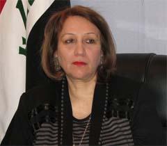 النائب عن العراقية أزهار الشيخلي :القائمة لا تتبنى الدفاع عن جماعة خلق