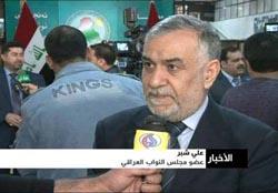 النائب علي شبر: المزارعون في ديالى يطالبون بإخلاء معسكر اشرف