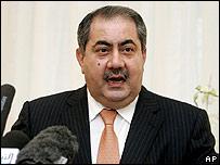 زيباري يبحث مع رئيس بعثة الأمم المتحدة في العراق قضية معسكر اشرف