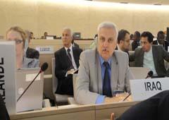 وزارت حقوق بشر عراق با حضور در کنفرانس ژنو بر پایبندی دولت عراق مبنی بر خاتمه دادن به وجود پایگاه اشرف خبر داد.