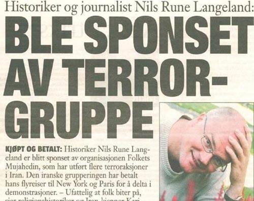 مورخ نروژی مورد گروه تروریستی