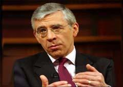 Jack Straw confirmed that the UK government condemned any form of terrorism