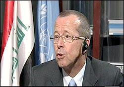 آقای مارتین کوبلر، نماینده ی ویژه ی دبیرکل سازمان ملل