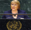 Open letter to Michelle Bachelet on Women in MKO
