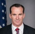 Deputy Assistant Secretary of State Brett McGurk visits Camp Hurriya