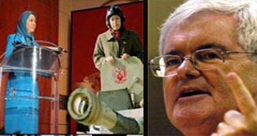 Mr. Gingrich! The Cult of Rajavi Is Also Incompatible with Western Civilization!