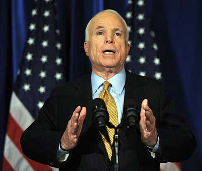 McCain Seeks to Protect US-Backed Terrorists From Other US-Backed Terrorists?