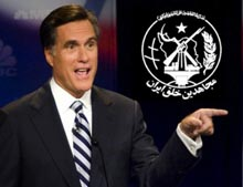 Backing the MEK confirms Romney's hostility to Iranian nation