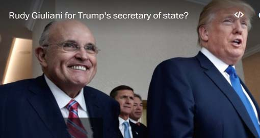 Giuliani was paid advocate for shady Iranian dissident group