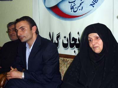 Sadeq Khavari escaped Camp Ashraf and joined his family