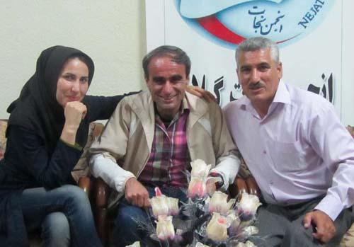 بازگشت منصور شعبانی به وطن و آغوش خانواده