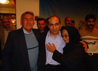 Mr. Rostami,MKO defector joined his family after 23 years
