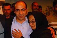 دیدار محمود رستمی با خانواده اش