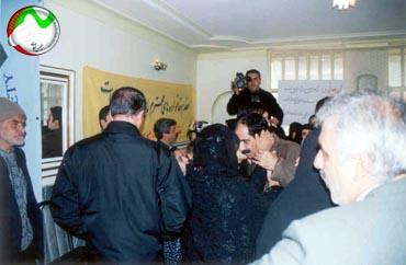 Mr. Nasir Heidari defected the Rajavis' Cult