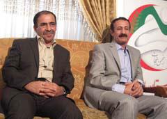 Mr. Eskardi and Mr. Shaabani escape camp Ashraf