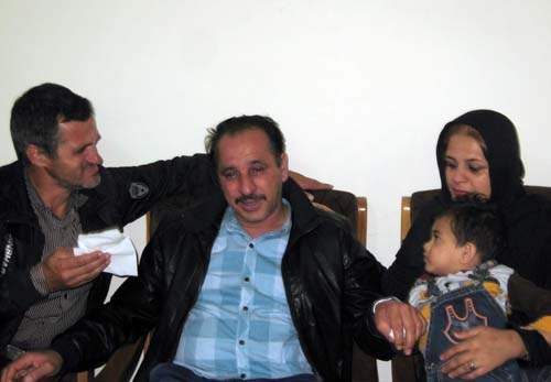 Mr. Babapour reunited his family after 27 years