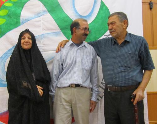 همایش انجمن نجات فارس به مناسبت بازگشت عباس محمد پور